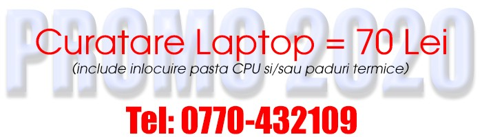 banner - curatare laptop